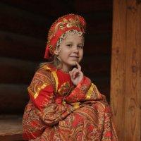 На крылечке :: Анна Городничева