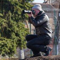 На удобной позиции за работой :: Игорь Вишняков