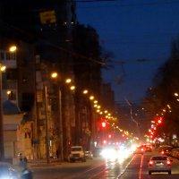 Улица вечернего города... :: Тамара (st.tamara)