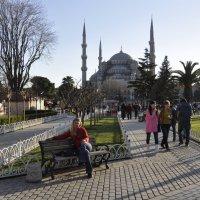 Голубая мечеть в Стамбуле :: Lukum
