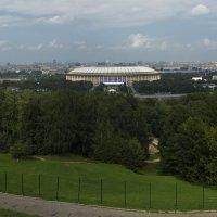 Москва как на ладони :: Андрей Баськов