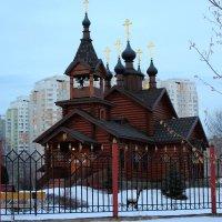 Храм Константина и Елены в Москве :: Людмила Монахова