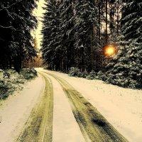 Зимняя дорога. Последние минуты 2015 год :: Sony 2 Sony 2