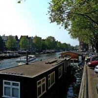 утро в Амстердаме :: Александр Корчемный