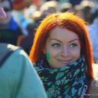 удивление в глазАХ или подсвеченная солнышком :: Олег Лукьянов