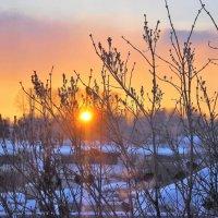 Прощание с солнышком :: Сергей Чиняев