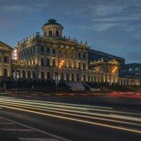 Дом Пашкова (вечер) :: Борис Гольдберг