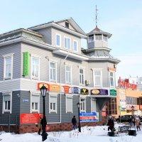 дом на ул.Чумбарова-Лучинского в Архангельске :: Светлана Ку