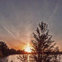 Закат на Иртыше :: Алина Репко