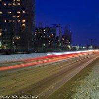 Вечерняя улица. :: Виктор Евстратов