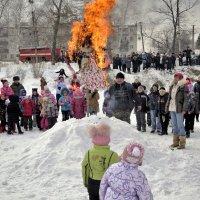 Сжигание чучела :: Николай Сапегин