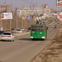 Троллейбусы у нас тоже ходЮт ! :: Мила Бовкун