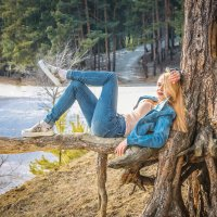 Отдых в лесу :: Kristina Neverova