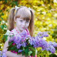 Весенний портрет :: Анастасия Рычагова