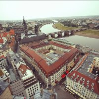 Дрезден со смотровой башни :: Ирина Лепнёва