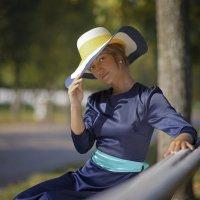 Девушка в шляпке :: Алексей Соминский