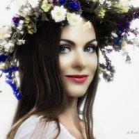 Studio portrait of a girl. :: krivitskiy Кривицкий