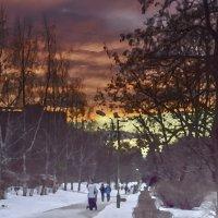 Акварель заката :: Андрей Михайлин