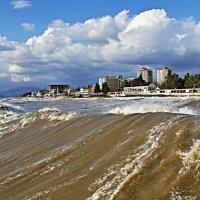 Совсем не чёрное....Чёрное море. :: владимир