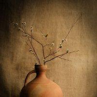 Натюрморт с кувшином и яблоками :: AlisaNikolenko