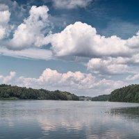 Облака над Десной. :: Андрий Майковский