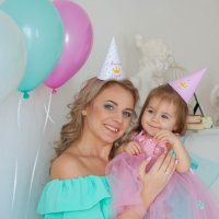 С мамочкой :: Аня Ушакова