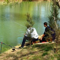 Рыбаки на канале :: Светлана