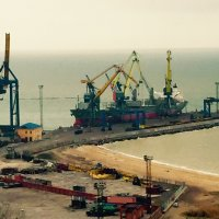 Mariupol port (Ukraine) :: Nikolay Nezhura