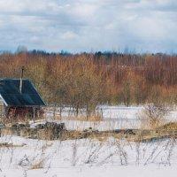 Баня в деревне :: Геннадий Клевцов
