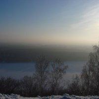 Морозный закат :: Сергей Тагиров