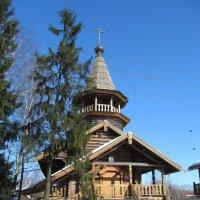 Церковь Иосафа Белгородского в Парголово :: Елена Павлова (Смолова)