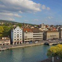 Швейцария, Цюрих. Старый город. :: Наталья Иванова