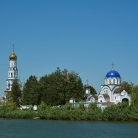 Церковь. Где-то на Кубани :: Александр