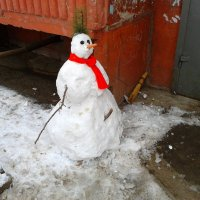 Снеговик :: Анатолий Моргун