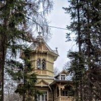 Деревянная дача Генриха Бертлинга :: Юрий Тихонов