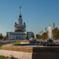Вид с территории ВДНХ :: Kasatkin Vladislav