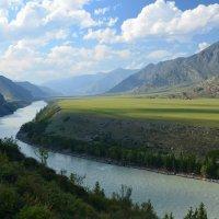 Горы, реки и равнины Алтая :: Николай Воробьёв
