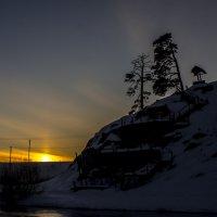 Закат над Чусовой :: михаил суворов