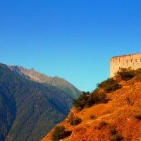 Крепость на горе.. :: Эдвард Фогель