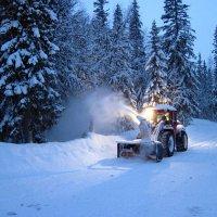 Уборка снега :: Lukum