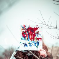 Немного красок :: Анастасия Хорошилова