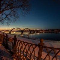 Мост через Волгу :: Николай Буклинский