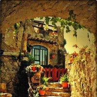 Уютненький дворик :: Лидия (naum.lidiya)