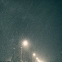 ночь...улица...фонарь... :: Елизавета Темкова