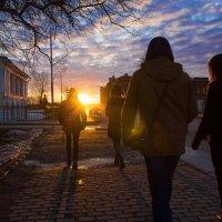 Навстречу солнцу :: Сергей Добрыднев