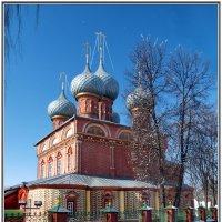 Кострома. Церковь Воскресения на Дебре. :: Олег