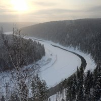 река чусовая :: Константин Трапезников