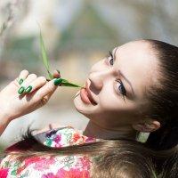 Девушка Весна ... :: Елена Нор