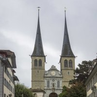 Церковь Хофкирхе. Люцерн, Швейцария. :: Наталья Иванова