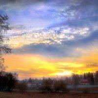 Небесные причуды рассвета.. :: Андрей Войцехов
